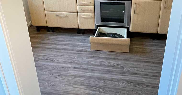 Küchenboden Designbelag