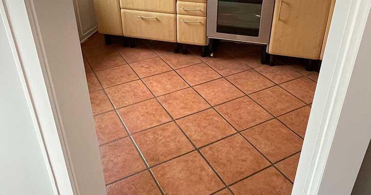 Küchenboden vorher